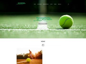 Tennishalle Ambiance